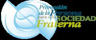 Logo: Promoción de la Persona para una Sociedad Fraterna